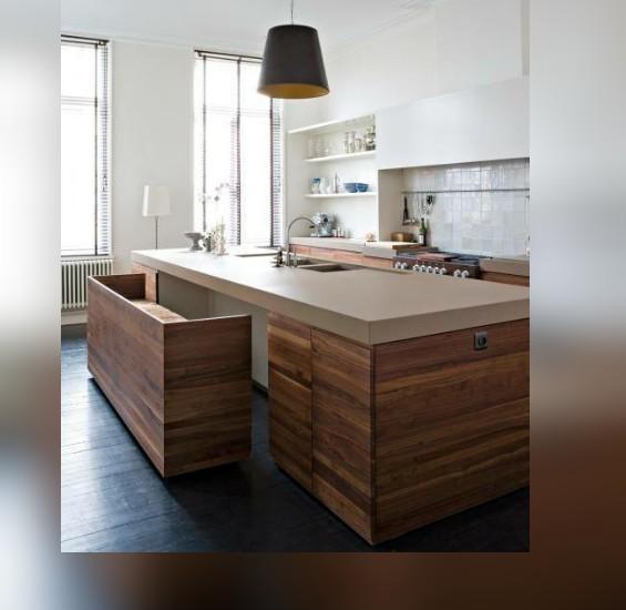 isla-cocina-en-madera-llanogrande